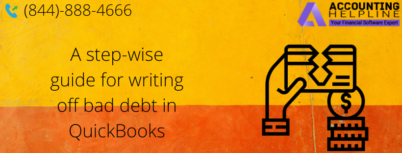 A step-wise guide for writing off bad debt in QuickBooks - RoyWill.over-blog.com