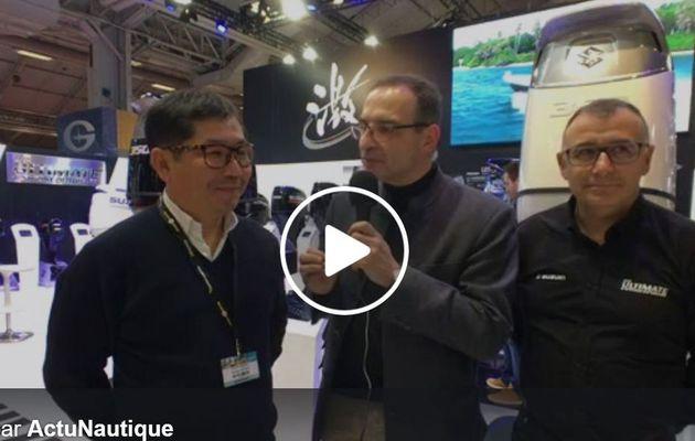 Vidéo Nautic 2017 - Suzuki avec le Paris Nautic Street Fishing, le 9 décembre, le long des berges de la Seine