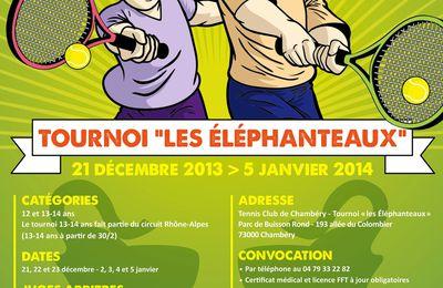 Tournoi jeunes  « Les Élephaneaux ».