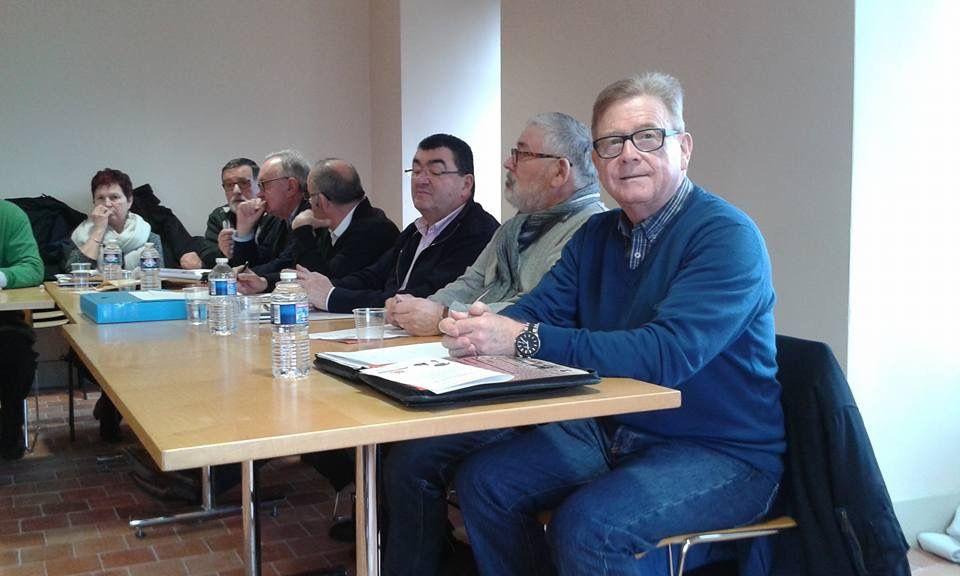 Réunion du Conseil d'Administration du 31/01/2018 à St.Florent le Vieil.