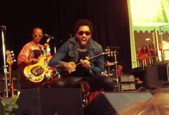 Lenny Kravitz : suivez son Teub Tour