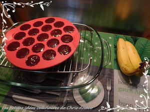 Bouchées banane & chocolat