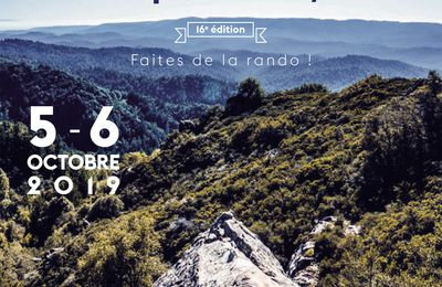 5 et 6 OCTOBRE 2019 - RANDONNEES des ALPES PROVENCALES à Digne