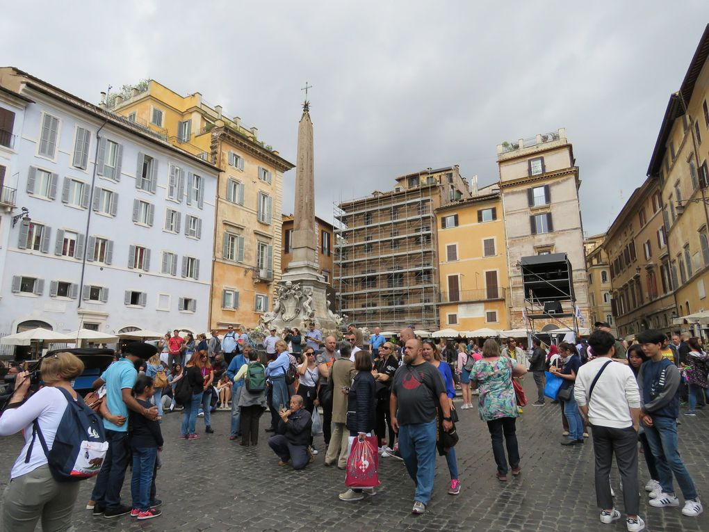 Voyage..... Vacances romaines : Piazzas e Fontane