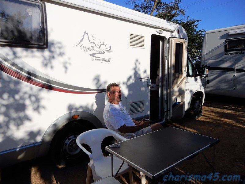 Mouriès, Canal du midi en camping-car