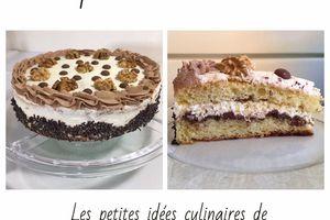 Gâteau aux noix fraîches