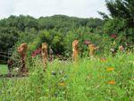 3 sculpteurs, 4 arbres, 1 Jardin Extraordinaire à Lieurac (09)