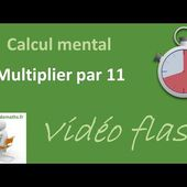 Multiplier par 11 (calcul mental)