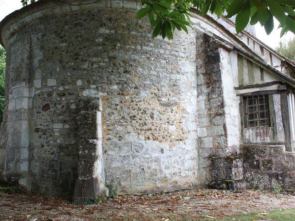 Photographies d'Antoine Garnier mettant en valeur le patrimoine roman de l'église paroissiale de Saint-Germain-de-Pasquier. Avec nos remerciements à leur auteur. Ces documents servent de support au texte ci-contre.
