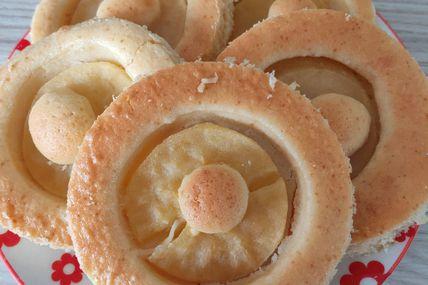 Gâteau fin aux pommes