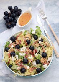 Salade frisée d'automne