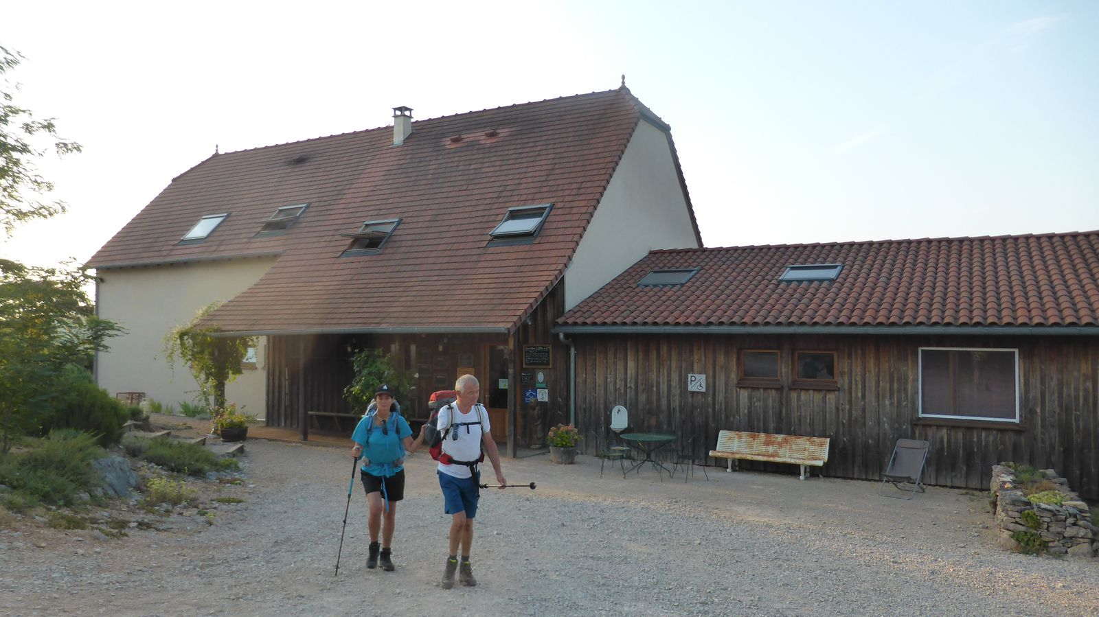 Au petit matin nous partons relativement tôt vers 07h15.