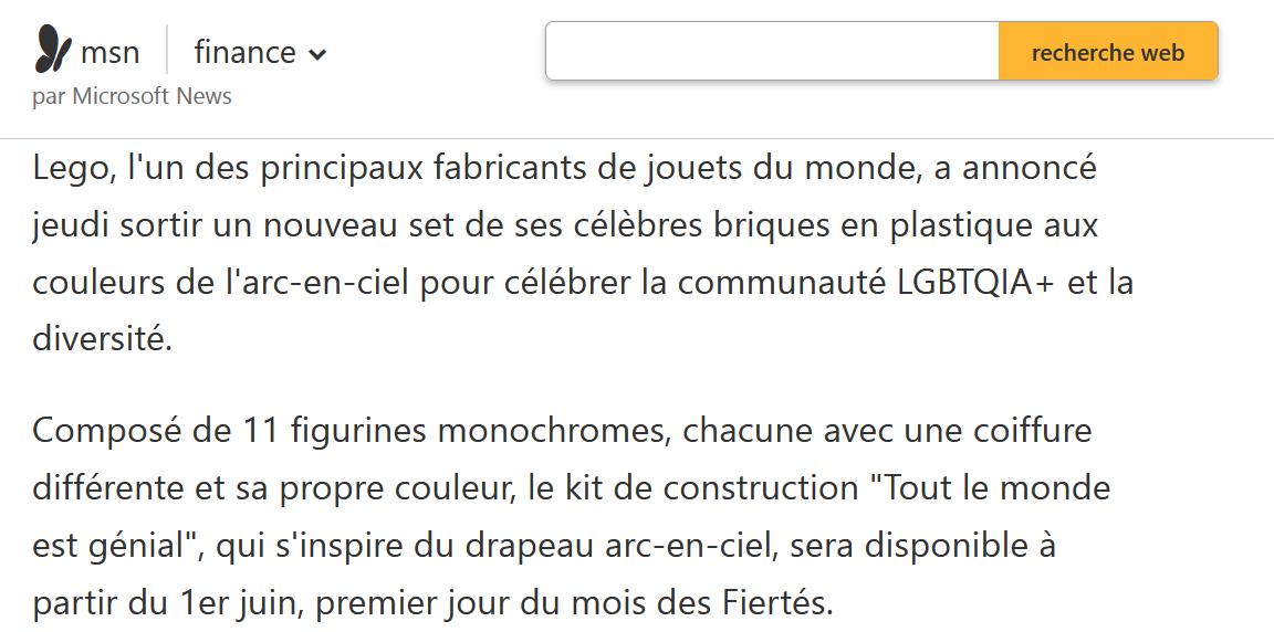 Pixar annonce un personnage transsexuel, le pasteur Mc Arthur parle de destruction des enfants
