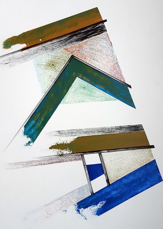 Etape n°9 de la 9e peinture en 9 mois - Marie Kresser-Verbois