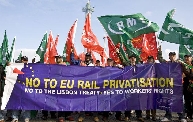 Le TGV britannique Nord-Sud pas avant une trentaine d'années... ou quand le privé rime avec inefficacité