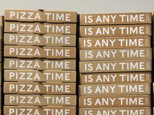 Packaging : Une boîte à pizza qui joue la montre !