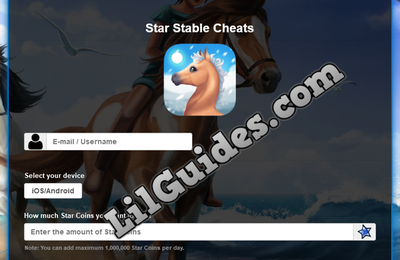 Star Stable Hack and Cheats [Get free Star Coins] [New 2020 Version]