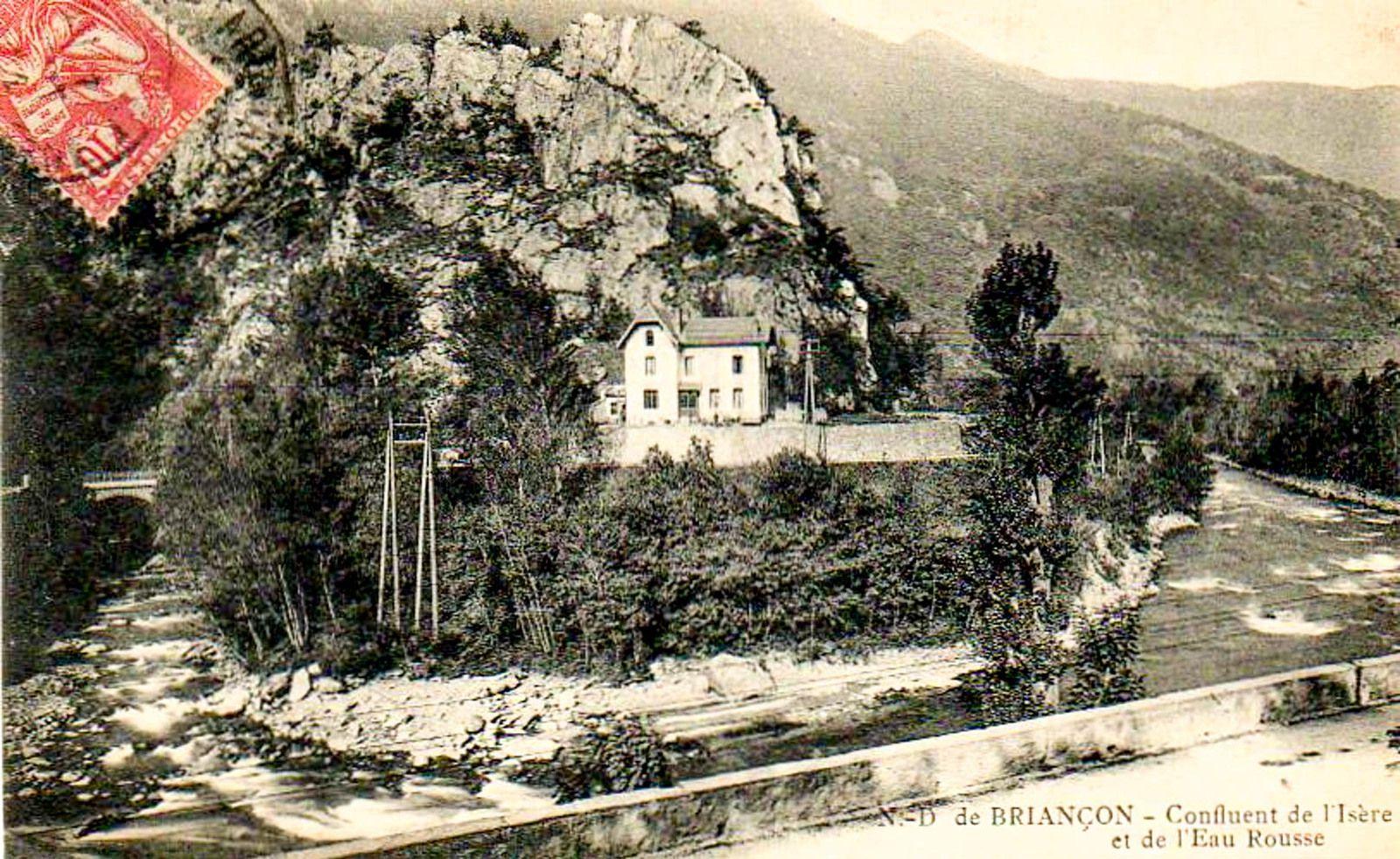 Notre Dame de Briançon et ses usines