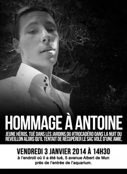 HONNEUR À ANTOINE, JEUNE HÉROS FRANÇAIS !