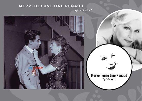 PHOTOS: Line Renaud et Gilbert Becaud 1955
