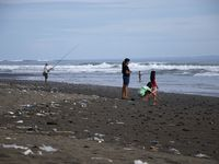 Balian beach, and don't imagine I have surfed these waves...