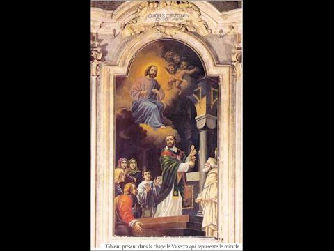 Miracle Eucharistique de Lanciano