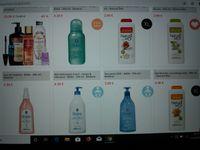 Exemples ventes site Beaute Privée