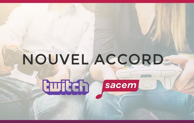 Media / streaming : La Sacem et Twitch signent un accord innovant