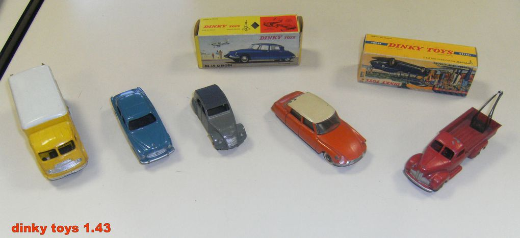 les Dinky toys