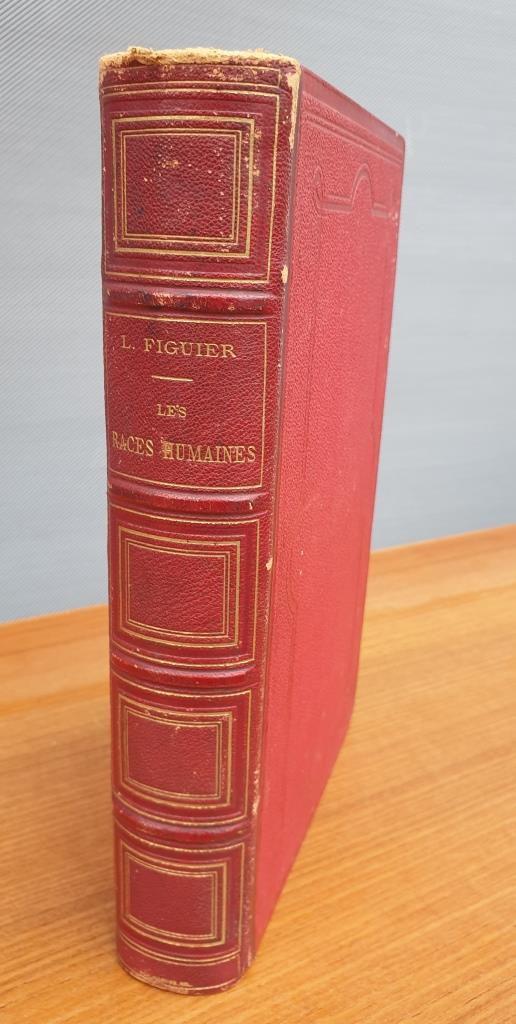 Les Races Humaines, 1875, Louis Figuier, 268 gravures - 55 euros