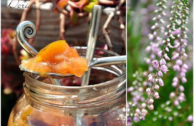 Confiture de figues, mirabelles et pommes