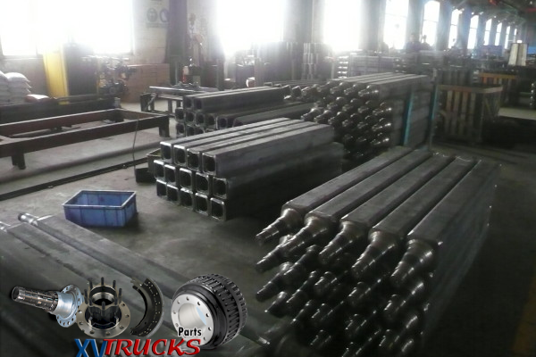 1/QC- Controle Qualite Fabrication Essieux et Bogies Semi Remorques Chine -Semi Trailers Axles China