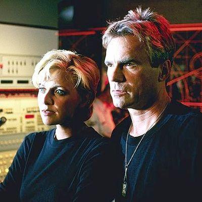 Samantha Carter et Jack O'Neill!