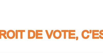 Le droit de vote c'est maintenant !