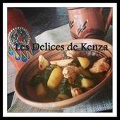 Tajine Poulet Epinard ( Video ) - Les Delices de Kenza