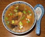 Potage Pékinois (aigre-piquant)