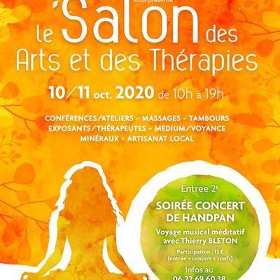 RAPPEL : SALON DES ARTS ET DES THERAPIES A LANGLADE 30980 - Présence et intervention de Bernadette Beltran Astrologue - les 10 et 11 octobre 2020