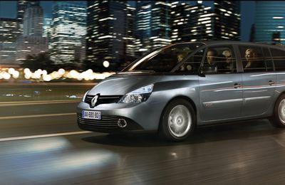 Un nouveau petit coup de peigne pour le Renault Espace