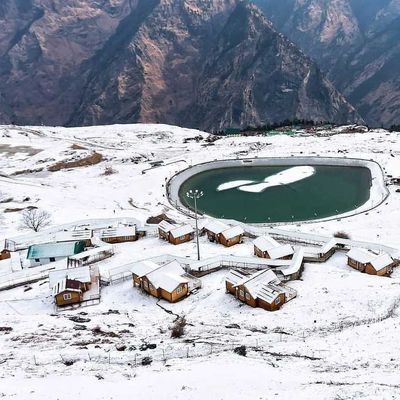 05 Best Places to See Snowfall in India