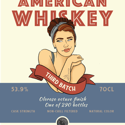 American Whiskey - 3006 I.B. Third Batch