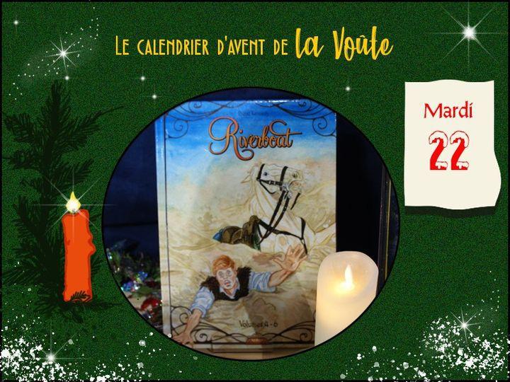 """JOUR 22 - Ne tombez pas dans un trou Noël est tout près Création de Diana Kennedy-Photo Maison associative """"La Voûte"""""""