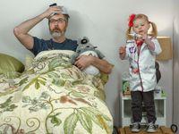 Fabuleuse complicité entre un père et sa fille. Des photos remplies de tendresses, de signification, d'amour, de jeux et d'humour..