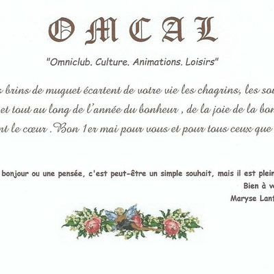 La reprise de l'OMCAL
