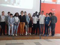 « Reporters en entreprises » AJE pour les élèves de 4ème du collège Joliot Curie à Reims