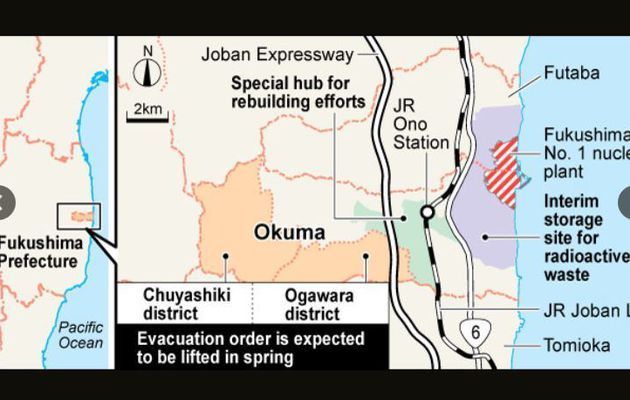 Lifting Okuma evacuation order in April?