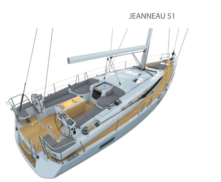 4 des 25 voiliers nomimés aux European Yacht of the Year 2017 : les Beneteau Oceanis Yacht 62, Jeanneau Yachts 51, RM 970 et Lagoon 42