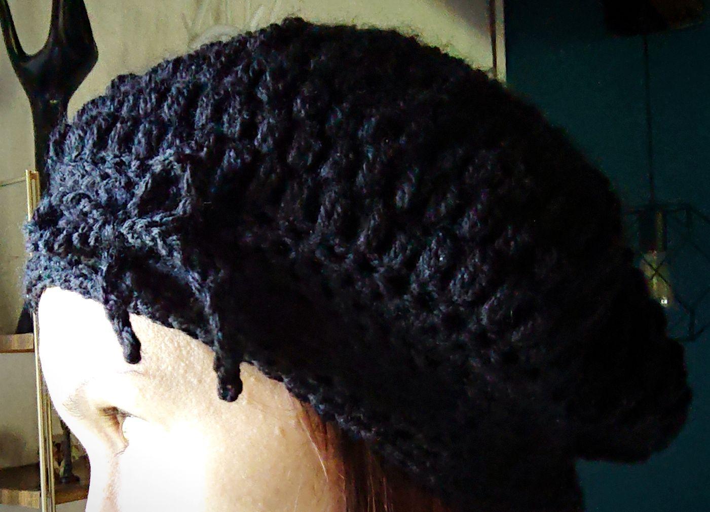 Un bonnet gavroche au crochet