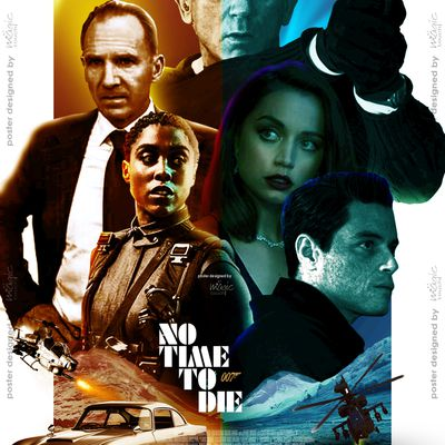 No Time T Die: New promotional poster designed by MT for IMAX (India)