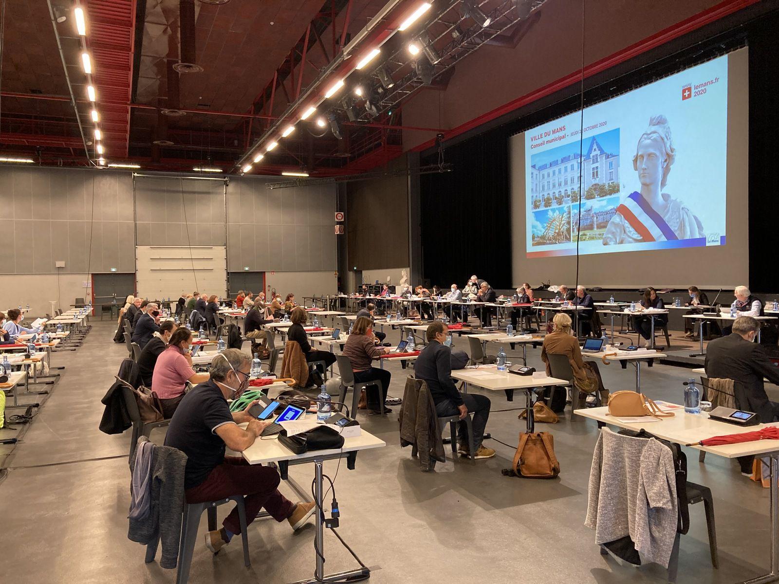 Conseil municipal du 22 octobre 2020