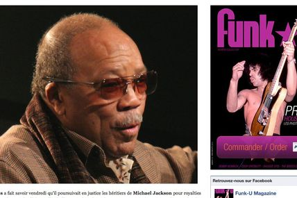 Quincy Jones poursuit en justice le Michael Jackson estate